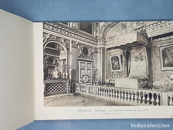 Libros antiguos: VERSAILLES ET LES TRIANNONS Album artistic 24 fotografías Paris muy antiguo - Foto 4 - 272389908