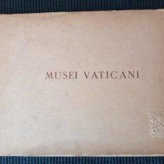 Libros antiguos: MUSEI VATICANI. 71 ILUSTRAZIONI IN 60 TAVOLE.. Lote 273476558