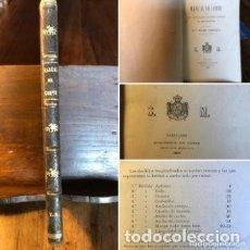 Libros antiguos: LIBRO DE CORTE Y CONFECCIÓN - AÑO 1883 - ASUNCIÓN ALONSO PONCE- MODISTA DE S.M. DOÑA MARÍA CRISTINA. Lote 275146233