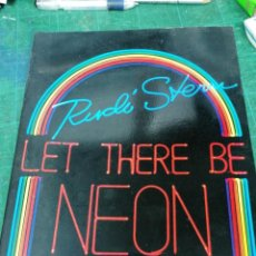 Libros antiguos: LET THERE BE NEON. RUDI STERN. Lote 275456843