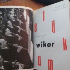 Libros antiguos: WIKOR. (REVISTA GENERAL DE ARTE PARA JÓVENES. NEERLANDES) AÑO COMPLETO 1958 IN 8º TELA 400 PP. MU. Lote 276947408