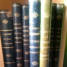 """Libros antiguos: """"LA ILUSTRACIÓN ESPAÑOLA Y AMÉRICANA"""" AÑO 1876 AÑO COMPLETO. 2 TOMOS.. Lote 278034863"""