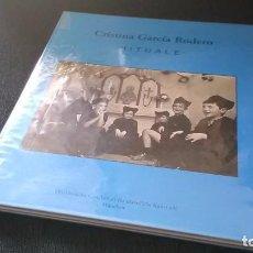 Libros antiguos: CRISTINA GARCIA RODERO, PHOTOBOOK, FOTOLIBRO - RITUAL - ESPAÑA OCULTA + ESPAÑA FIESTAS Y RITOS, RARO. Lote 286791318
