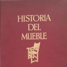Libros antiguos: HISTORIA DEL MUEBLE - H. SCHMITZ. GUSTAVO GILI - EDITOR BARCELONA. 1927. Lote 289904093