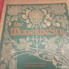 Libros antiguos: DER MODERN STIL VON JULIUS HOMFMAN 1899 STUTTGART. Lote 294661073