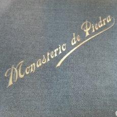 Libros antiguos: MONASTERIO DE PIEDRA. Lote 295859668