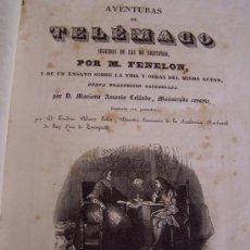 Libros antiguos: AVENTURAS DE TELÉMACO, SEGUIDAS DE LAS DE ARISTONOO-1843-M.FELENON, Y DE UN ENSAYO SOBRE LA VIDA Y-. Lote 174057803