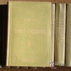 Libros antiguos: SARMIENTO, DOMINGO FAUSTINO: OBRAS ESCOGIDAS ( COLECCION COMPLETA DE 18 TOMOS). 1917. Lote 27236596