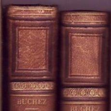 Libros antiguos: INTRODUCTION À LA SCIENCE DE L'HISTOIRE. DEUXIÈME ÉDITION, CORRIGÉE ET AUGMENTÉE. P. J. B. BUCHEZ.. Lote 27137477