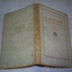Libros antiguos: EL LICENCIADO VIDRIERA VISTO POR AZORÍN 1915 PUBLICACIONES DE LA RESIDENCIA DE ESTUDIANTES RM50479. Lote 26125457