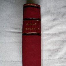 Libros antiguos: LITERATURA GENERAL O TEORIA DE LOS GENEROS LITERARIOS. SANTOS SANTAMARIA DEL POZO. 1891. Lote 26193627