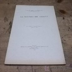 Libros antiguos: 1298.-FILOLOGIA-LA FRONTERA DEL ANDALUZ-T.NAVARRO TOMAS. Lote 28374085