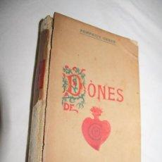 Libros antiguos: 1437- BONITO LIBRO' DÓNES DE COR', POR POMPEIUS GENER, AÑO 1907. Lote 28488250