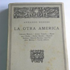 Libros antiguos: ARMANDO DONOSO : LA OTRA AMÉRICA ED CALPE 1925 ( CRITICA LITERARIA).. Lote 29073977