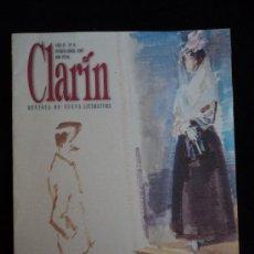 Libros antiguos: CLARIN. REVISTA NUEVA LITERATURA. Nº 8. Lote 29259788