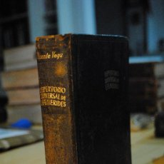 Libros antiguos: 1949.- AGUILAR. ENSAYO DE UN REPERTORIO UNIVERSAL DE EFEMERIDES. VICENTE VEGA. Lote 29379738