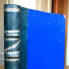 Libros antiguos: 1888. FRAY CANDIL (EMILIO BOBADILLA). ESCARAMUZAS (SÁTIRAS Y CRÍTICAS). PRÓLOGO DE CLARÍN.. Lote 29493209