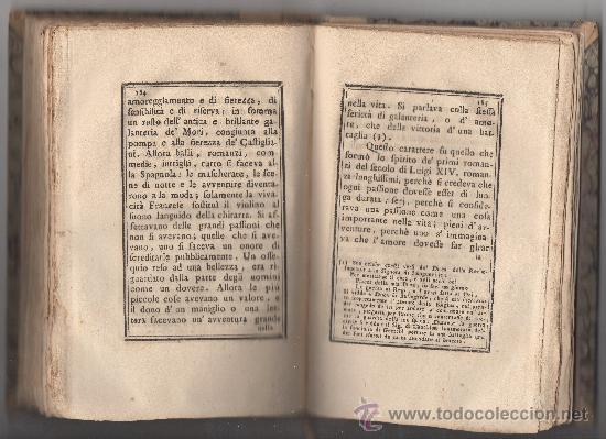Libros antiguos: SAGGIO SUL CARATTERE, COSTUMI E SPIRITO DELLE DONNE NEI DIVERSI SECOLI. (ANNO 1773). - Foto 3 - 30837107