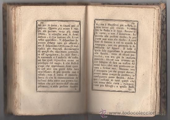 Libros antiguos: SAGGIO SUL CARATTERE, COSTUMI E SPIRITO DELLE DONNE NEI DIVERSI SECOLI. (ANNO 1773). - Foto 4 - 30837107