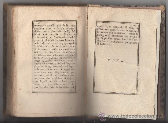 Libros antiguos: SAGGIO SUL CARATTERE, COSTUMI E SPIRITO DELLE DONNE NEI DIVERSI SECOLI. (ANNO 1773). - Foto 5 - 30837107