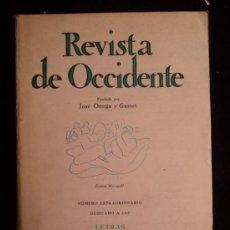 Libros antiguos: ESPECIAL LETRAS ARGENTINAS. REVISTA DE OCCIDENTE.Nº 100 JULIO 1971 186 PAG. Lote 32657252