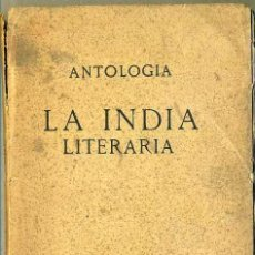 Libros antiguos: FRILLEY : LA INDIA LITERARIA (BOURET, C. 1930) . Lote 97945180