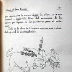 Libros antiguos: REVISTA DE OCCIDENTE. AÑO IX. Nº XCV. RETRATO DE JEAN COCTEAU (CON GRABADOS). Lote 36561645