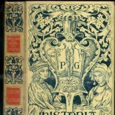 Libros antiguos: MONTANER & SIMÓN - POMPEYO GENER : HISTORIA DE LA LITERATURA (1902). Lote 36833621