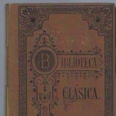 Libros antiguos: BIBLIOTECA CLÁSICA TM XI, ESTUDIOS LITERARIOS,LORD MACAULAY,MADRID LIB DE LA VIUDA DE HERNANDO 1891. Lote 40908476