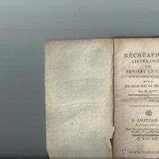 Libros antiguos: ENSAYO SOBRE LA TRAICIÓN. RARA OBRA. 1719. Lote 41764808