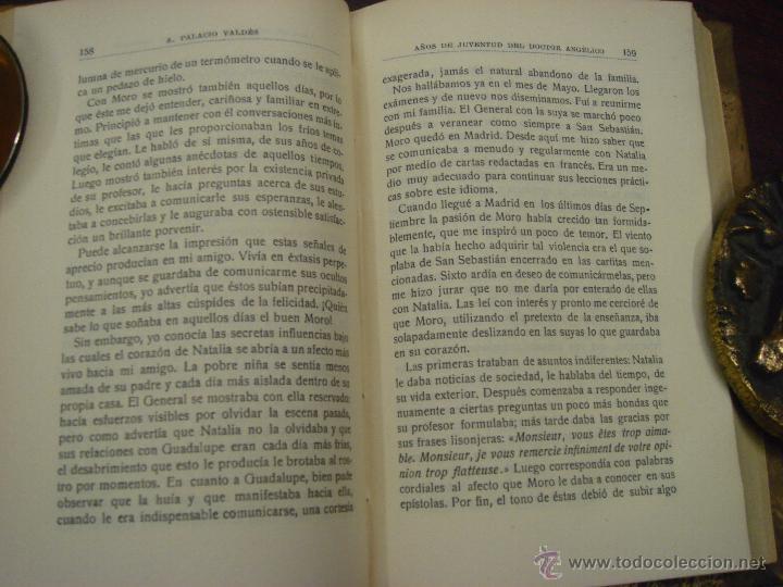 Libros antiguos: AÑOS DE JUVENTUD DEL DOCTOR ANGELICO. A. PALACIO VALDES. 1918?. LIBRERIA VICTORIANO SUAREZ - Foto 6 - 43204067