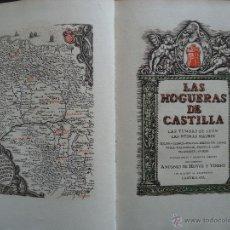 Libros antiguos: GALICIA.LUGO.'LAS HOGUERAS DE CASTILLA' ANTONIO HOYOS Y VINENT. 1 MAPA Y 10 GRABADOS DE CASTRO GIL. Lote 43222045