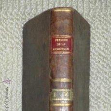 Libros antiguos: COLECCIÓN DE LAS OBRAS DE ELOCUENCIA Y POESÍA PREMIADAS POR LA REAL ACADEMIA ESPAÑOLA, IBARRA 1799. Lote 44030121