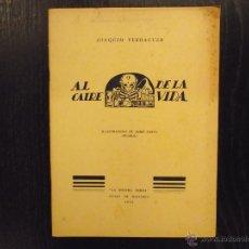 Libros antiguos: AL CAIRE DE LA VIDA, JOAQUIM VERDAGUER. Lote 47030475
