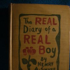Libros antiguos: HENRY SHUTE: - THE REAL DIARY OF A REAL BOY - (BOSTON, 1903). Lote 47245631