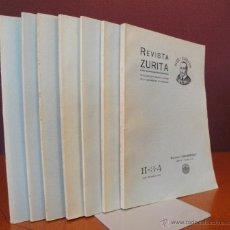 Libros antiguos: REVISTA ZURITA.. Lote 47993705