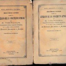 Libros antiguos: GENERACIÓN DE LOS CONOCIMIENTOS HUMANOS 4 VOLS. (G. TIBERGHIEN, PRÓL. DE NICOLÁS SALMERÓN) 1875.. Lote 48208336