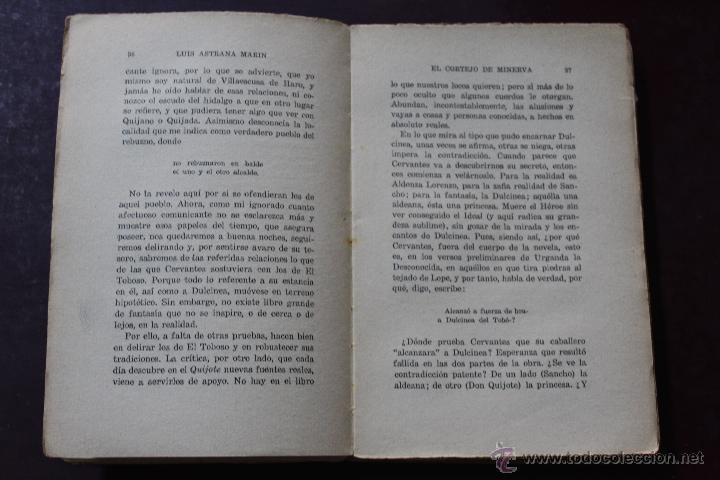 Libros antiguos: L- 1777. EL CORTEJO DE MINERVA. LUIS ASTRANA MARIN. 1º EDICION. - Foto 3 - 50243909