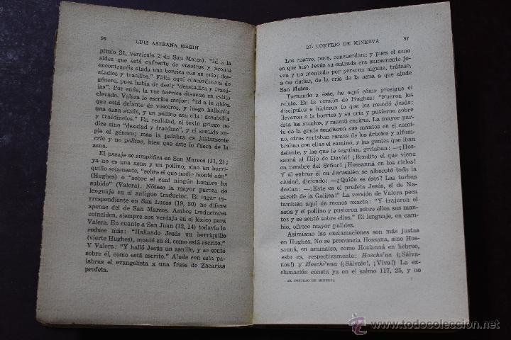 Libros antiguos: L- 1777. EL CORTEJO DE MINERVA. LUIS ASTRANA MARIN. 1º EDICION. - Foto 4 - 50243909