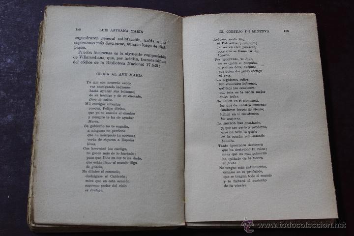 Libros antiguos: L- 1777. EL CORTEJO DE MINERVA. LUIS ASTRANA MARIN. 1º EDICION. - Foto 6 - 50243909