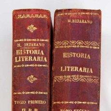 Libros antiguos: HISTORIA LITERARIA. ENSAYO - MARIO MÉNDEZ BEJARANO (2 TOMOS). Lote 51635781