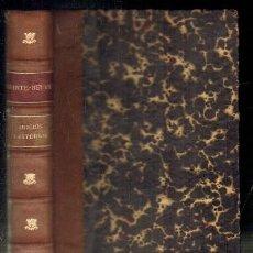 Libros antiguos: JUICIOS Y ESTUDIOS LITERARIOS DE CAUSERIES DU LUNDI. A-ENS-303. Lote 54790345