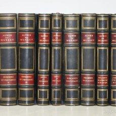 Libros antiguos: 7313 - OEUVRES COMPLÈTES. X TOMOS(VER DESCRIP). ALFRED DE MUSSET. 1927-1929.. Lote 55327993