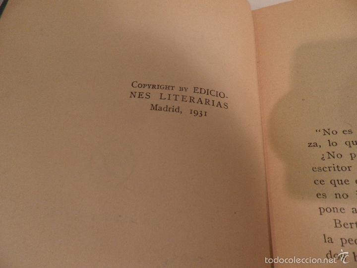 Libros antiguos: Reflejos. Novela. Traducción de Josefina R. Suarez. 1ª EDICION - JEAN DE LA BRETE, BIBLIOTECA HOGAR - Foto 3 - 56861007