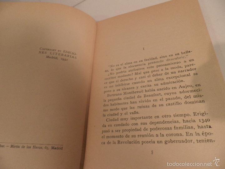 Libros antiguos: Reflejos. Novela. Traducción de Josefina R. Suarez. 1ª EDICION - JEAN DE LA BRETE, BIBLIOTECA HOGAR - Foto 4 - 56861007