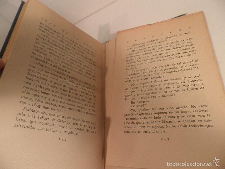 Libros antiguos: Reflejos. Novela. Traducción de Josefina R. Suarez. 1ª EDICION - JEAN DE LA BRETE, BIBLIOTECA HOGAR - Foto 5 - 56861007
