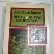 Libros antiguos: RITOS, MITOS Y EQUÍVOCOS. Lote 56875497
