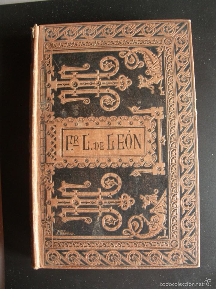 FRAY LUÍS DE LEÓN. LA PERFECTA CASADA. BIBLIOTECA CLÁSICA ESPAÑOLA. 1884 (Libros antiguos (hasta 1936), raros y curiosos - Literatura - Ensayo)