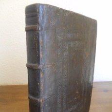 Libros antiguos: M.T. CICERÓN: DE OFFICIIS LIB. III. EDICIÓN ERASMO DE ROTTERDAM. PARÍS 1550. ENCUADERNACIÓN. Lote 59427615