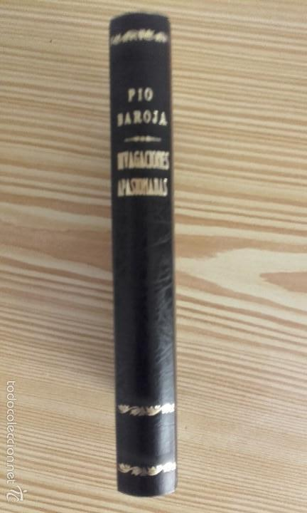 Libros antiguos: PÍO BAROJA - DIVAGACIONES APASIONADAS (1924) [1ª EDICIÓN] - Foto 3 - 60694695